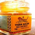 Tigerbalm baume du tigre rouge