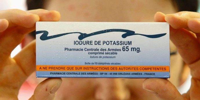 Potassium iodure santé SSKI
