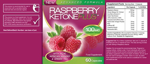 raspberry ketone avis composition