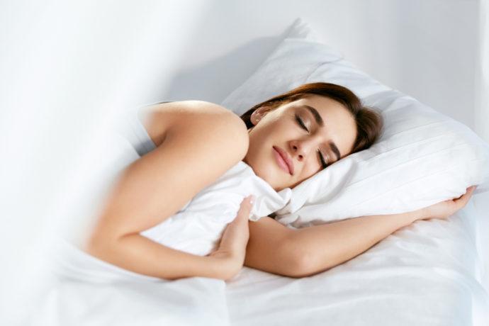 Dormir sur une literie neuve