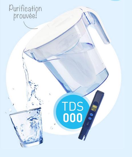 choisir sa fontaine à eau ou carafe filtrante