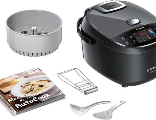 cuisinier avec un multicuiseur